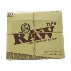 Boquillas pre enrolladas Tips 21 hojas 20/Box