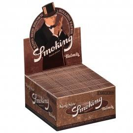 Smoking King Size Brown (caja de 50 librillos)