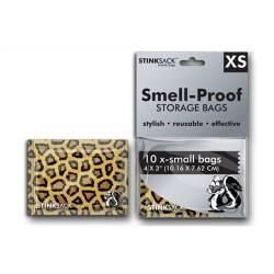 Bolsas Stink Sack XS leopardo 10uds (10,16 x 7,62cm)