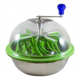 Peladora Leaf Cutter Pro 40cm manual transparente verde