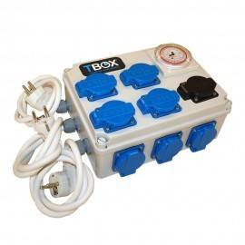 Tempo Box 12 salidas + calefacción 600W