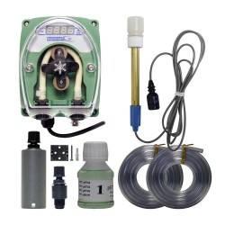 Controlador de pH Kontrol 01 con bomba, sonda y solución