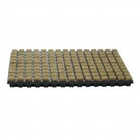Semillero lana roca 18 bandejas 150und