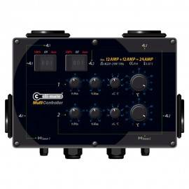 Multi controller temp histeresis 12+12 amp