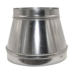 Reducción cono 400-300 mm