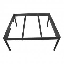 Soporte para mesa hidro negra 80 x 80cm